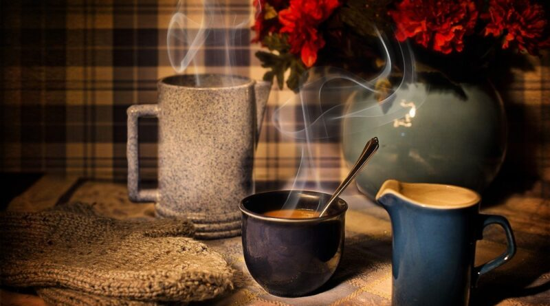 coffee, winter, warmth