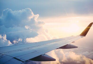 plane, wing, flight