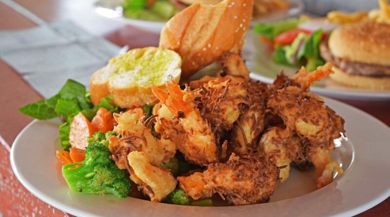 shrimp, kitchen, food